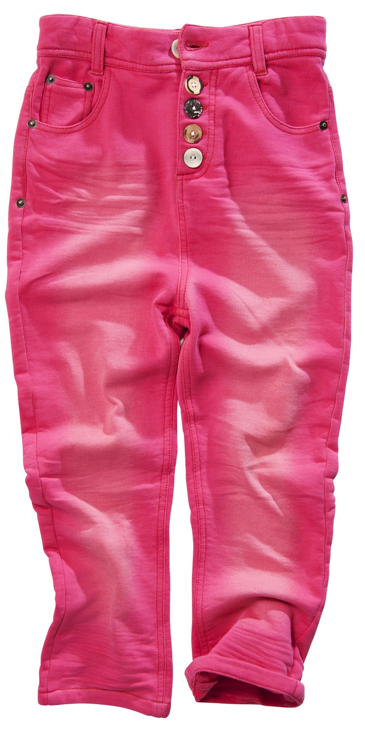 Button Pants pink