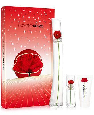 a543beb0e Kenzo 3-Pc. Flower By Kenzo Eau de Parfum Gift Set Beauty - Perfume - Macy's