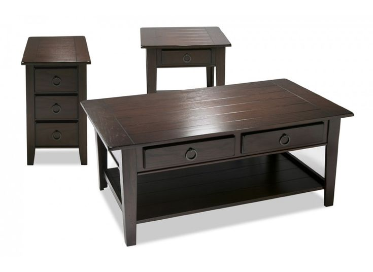 Wellfleet Coffee Table Set | Coffee & End Tables | Living Room | Bob's Discount Furniture