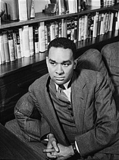 "Richard Wright, author of ""Native Son,"" my favorite book in the entire world."