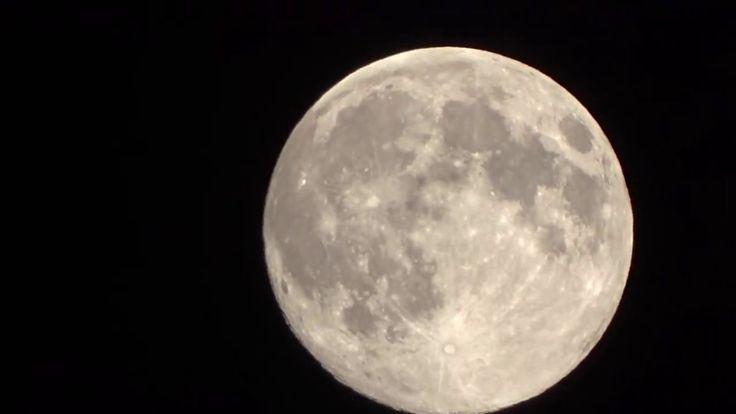 Moon Video with sony dsc-hx400v