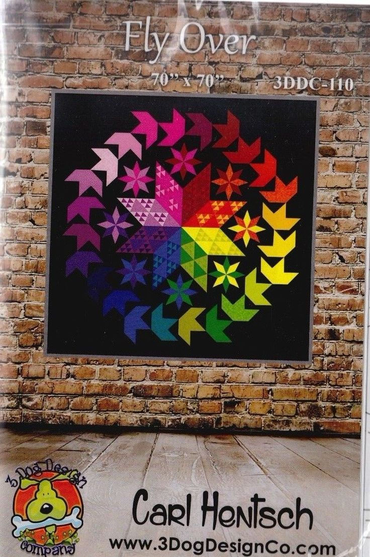 A bounty of beautiful tonals simply sparkle against the black background in this dramatic quilt! Precisely pieced diamonds for the center star are easy to make with foundation paper piecing. Pattern contains full detailed instructions to complete the project. | eBay!
