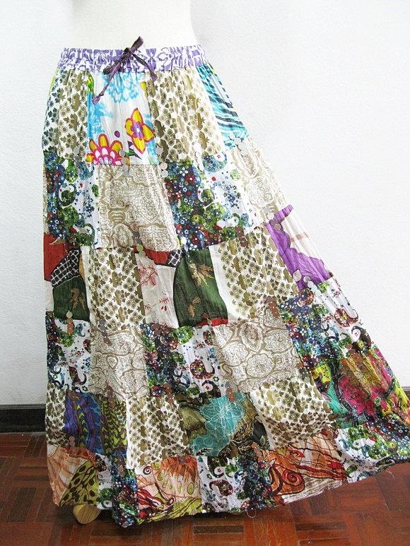 love the hippie skirts!