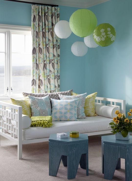 Girls Bedroom Ideas Blue And Green
