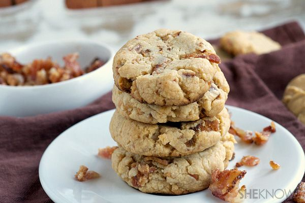 Bisquick peanut butter bacon cookies 1/2 cup creamy peanut butter 7 ...