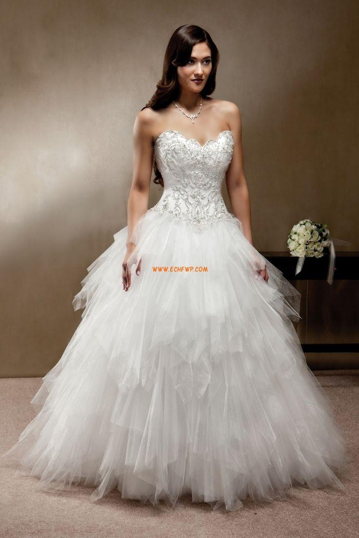 Chic & Modern Vår Applikation Lyx Bröllopsklänningar