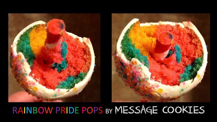 Introducing Rainbow Pride Pops :D