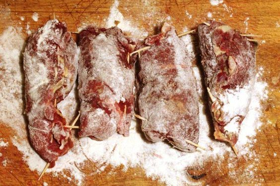 How to Make German Beef Rouladen in Your Slow Cooker-one of my favorites growing up.