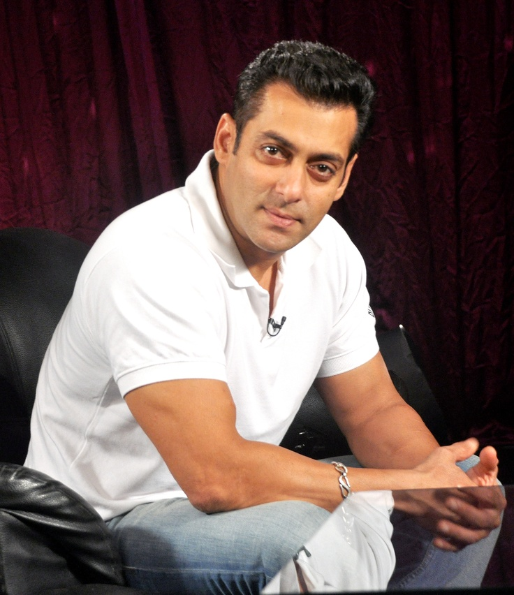 Salman Khan's picture taken during an interview.     #salmankhan #zoomtv #bollywood