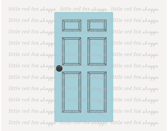 Blue Door Clip Art