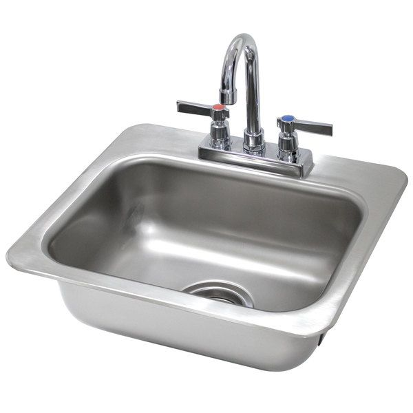 Advance Tabco Di 1 35 Drop In Stainless Steel Sink In 2020 Stainless Steel Sinks Sink Sink Design