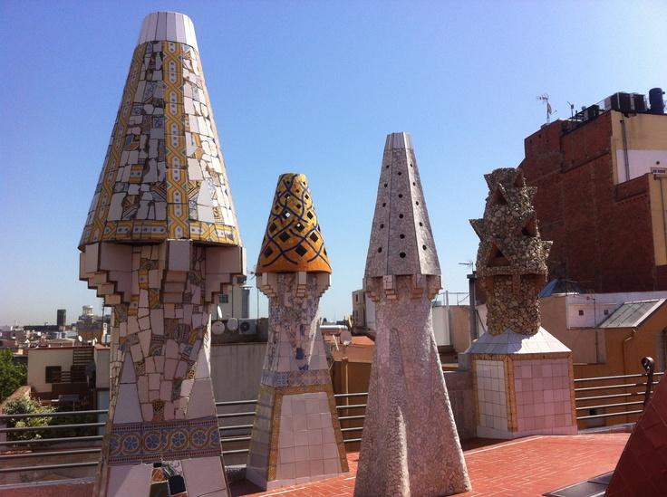 Antoni Gaudí, Palau Güell, Barcelona - May 2012 / Photo by Camilla Momme