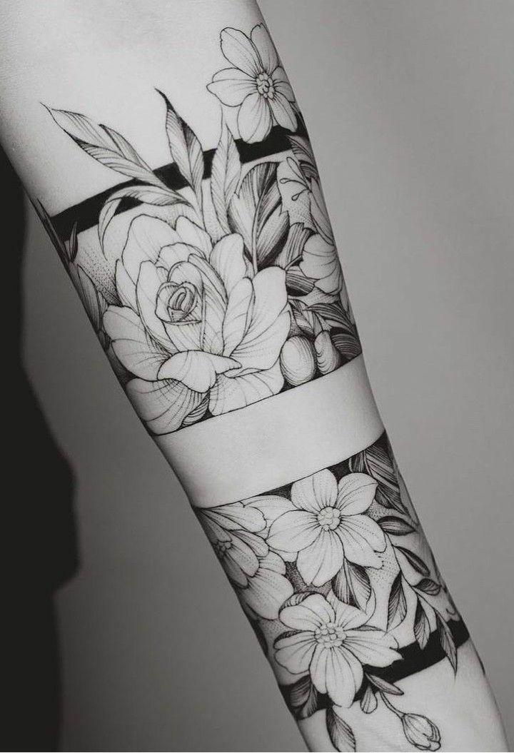 Pin De Julii Chacon Mora En Tattus Tatuaje Flores Antebrazo