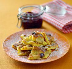Frittatacon banane, uvetta e pinoli (Tirolo)