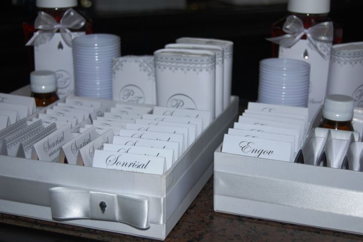 Prenda Minha Lembrança: Kit Banheiro - Casamento Branco