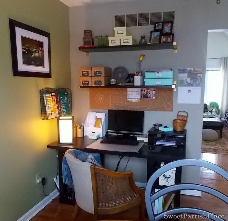 Dining Room Office Progress Shelving