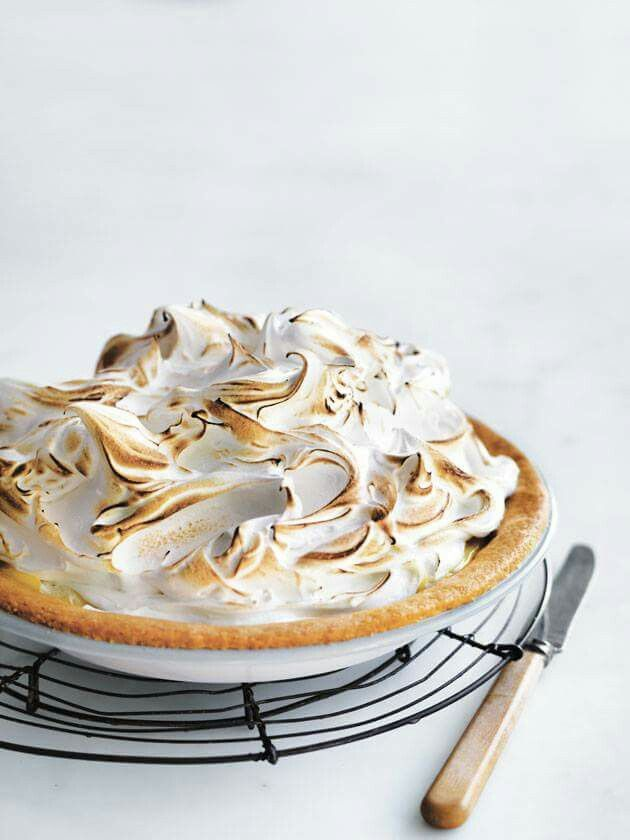 Sweet lemon meringue pie with a deliciously lemony filling from Donna Hay