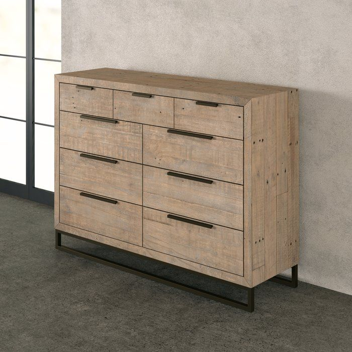 Best Glenda 9 Drawer Double Dresser Reviews Allmodern 400 x 300