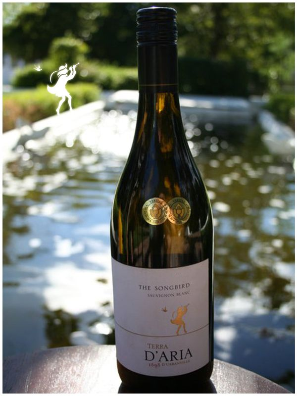 It's a beautiful day – come and enjoy a beautiful wine to go with it! The songbird - A complex Sauvignon Blanc, combining aromas and flavors of green pepper, asparagus and gooseberries with tropical fruit.