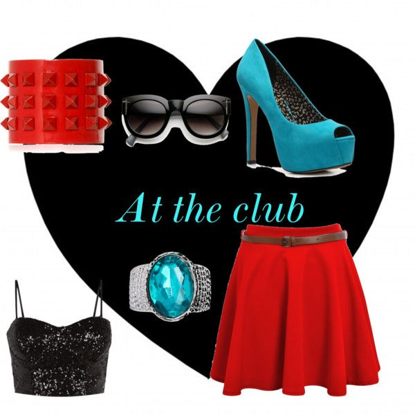"""at the club"" by simmysim0802 on Polyvore"