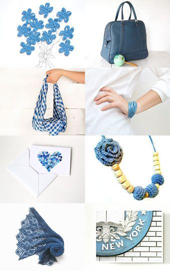 Blue Day by Rosalba Crosilla on Etsy--Pinned with TreasuryPin.com