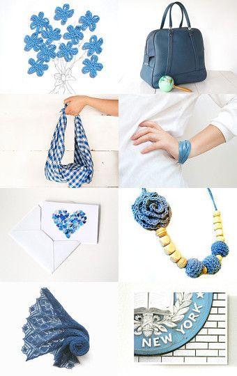 Blue Day by Rosalba Crosilla on Etsy--Pinned with TreasuryPin.com