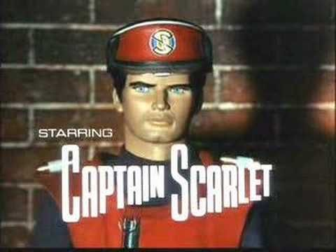 Captain Scarlet and the Mysterons TV intro (1967-68)