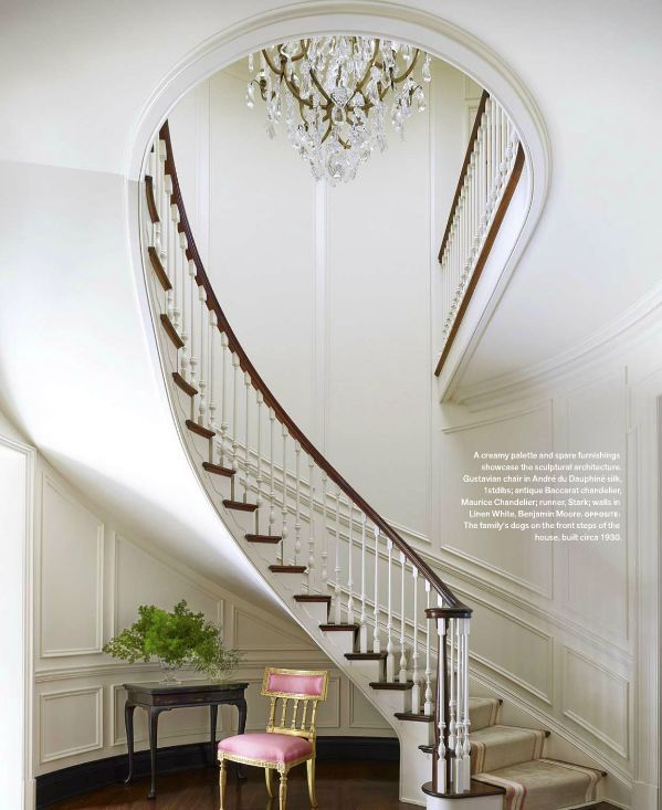 Georgian Revival - Fabulous Entry-way and Staircase Design