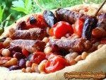 fasole prajita servita in lipie www.papamond.ro  (11)