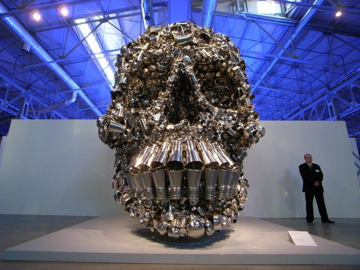 'The Hungry God', Sculpture by: Subodh Gupta