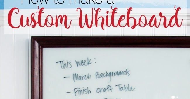 The Best Way to Add Vinyl to Glass (And Making a Custom Whiteboard with Silhouette) - Silhouette School