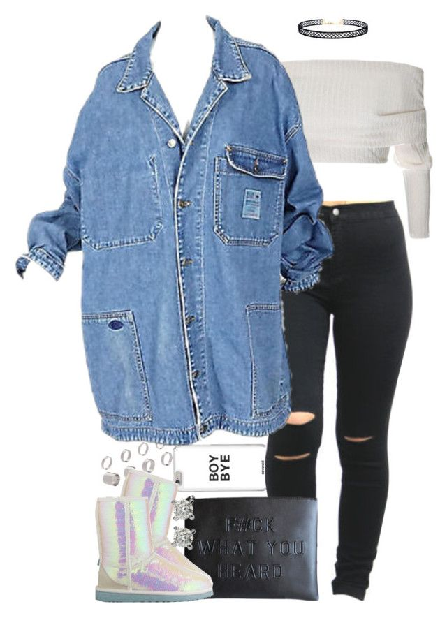 Untitled #1607 by power-beauty on Polyvore featuring polyvore fashion style UGG Australia ASOS LULUS clothing