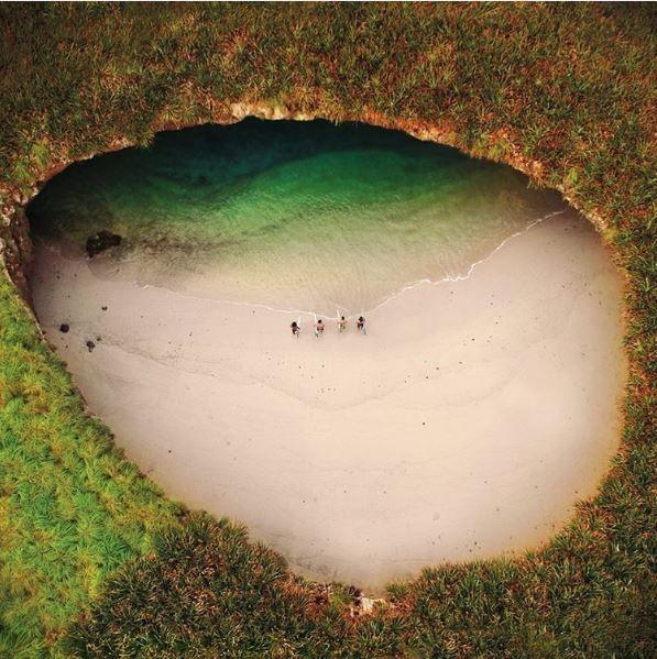 Islas Marietas, Punta de Mita, Nayarit, Mexico.