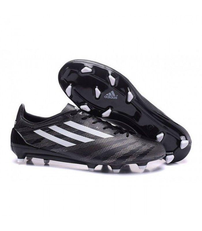 Acheter Nouveau Adizero F50 Trx Fg Chaussures Football Homme Adidas Noir Blanc pas cher en ligne 87,00€ sur http://cramponsdefootdiscount.com