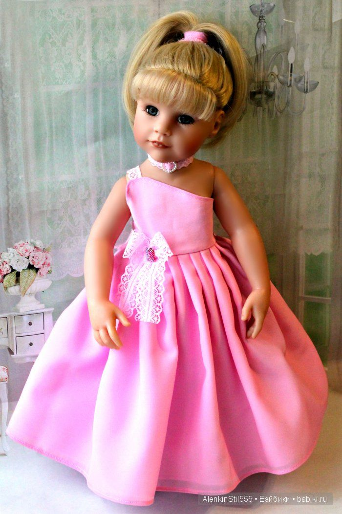 Здравствуйте, посетители этого кукольного сайта! Спешу продемонстрировать Вам праздничные наряды для любимой всеми Ханны. Коллекция под названием «Все на бал».