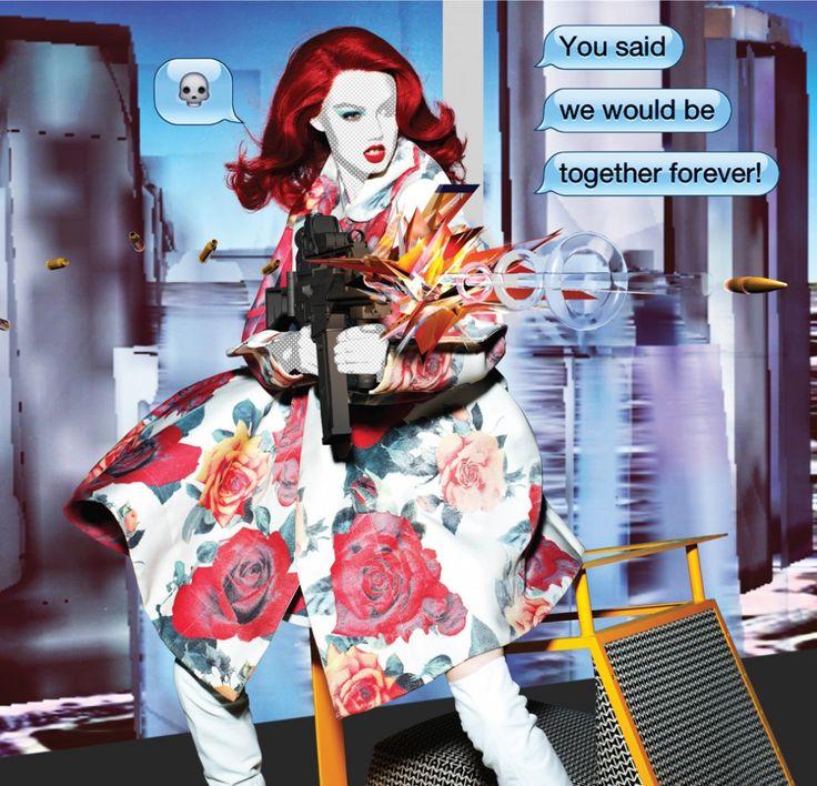 Nick Knight for Garage Magazine fall 2012.
