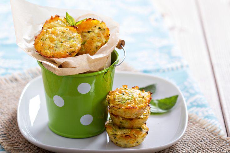 calabacines con queso gratinado