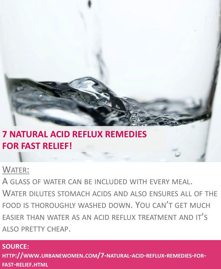 how to get rid of acid reflux naturally fast