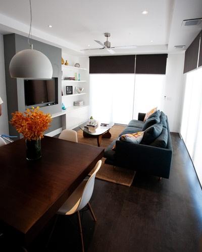 Dan & Dani — Living room & dining room