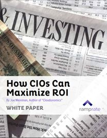 Increasingly challenging IT environments requires the CIO to look at new approaches, tools, partners, advisors, and sourcing methods, and gain a deeper understanding of choices with greater transparency into risks, hidden costs, and the greater currency of this data.  Learn how you can maximize ROI, and  thrive in the new IT environment.  Easy peasy - right?