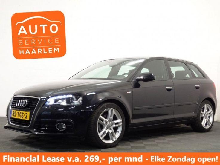 Audi A3  Description: Audi A3 Sportback 1.4 TFSI S-TRONIC PRO LINE S  Price: 301.09  Meer informatie