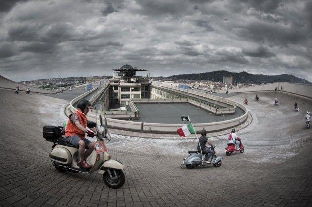 Pista en la azotea del edificio Lingotto, Turín