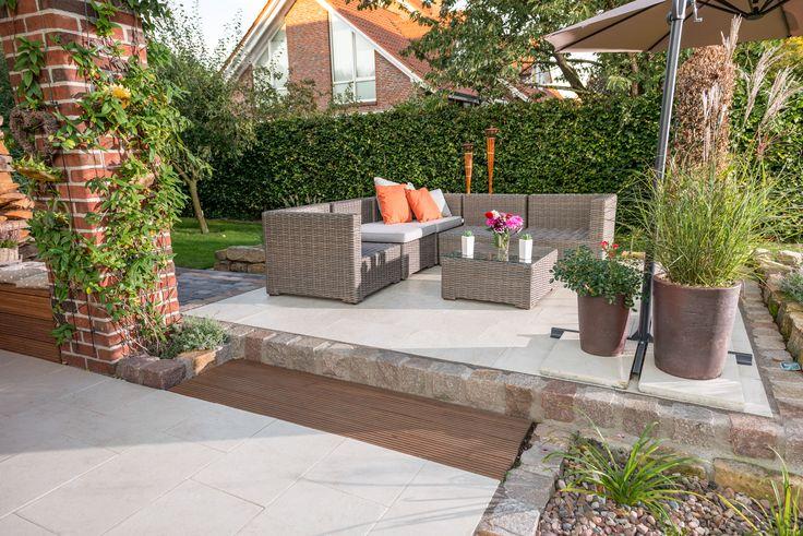 112 besten terrassenplatten bilder auf pinterest. Black Bedroom Furniture Sets. Home Design Ideas
