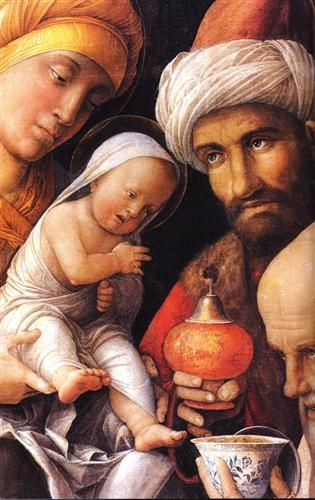 The Adoration of the Magi - Andrea Mantegna