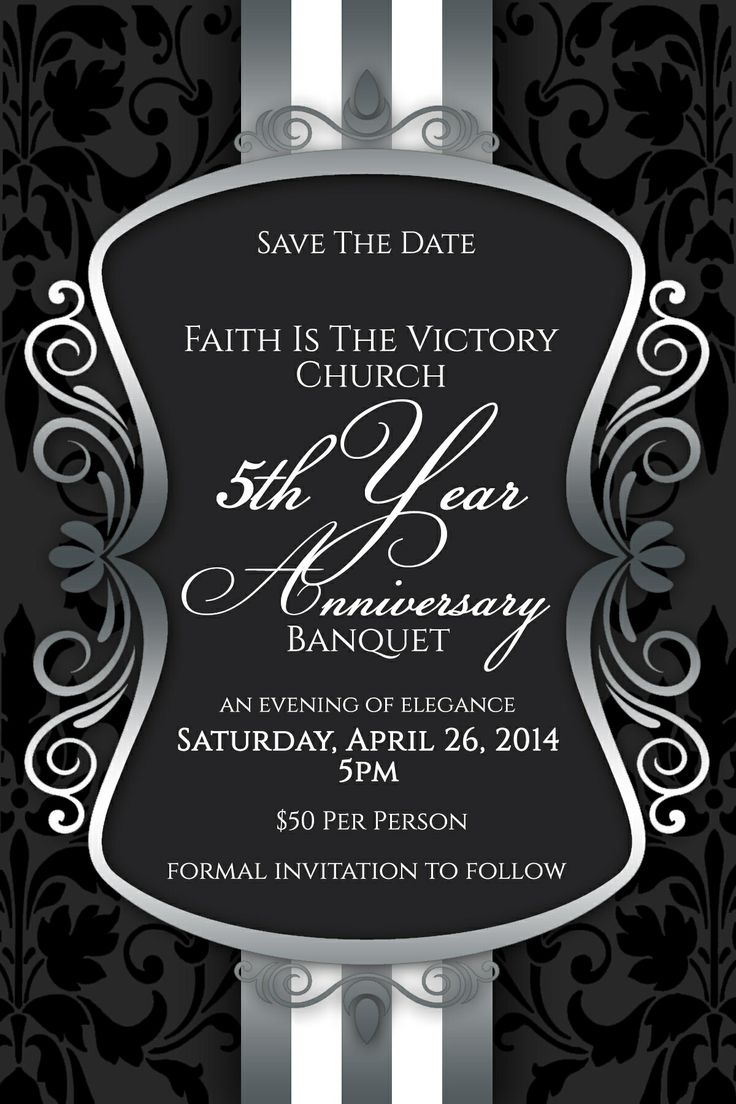 save the date we invite you to join faith is the victory