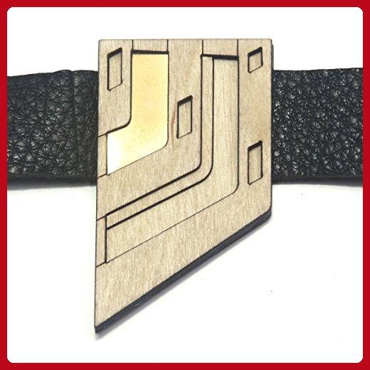 ZARU | bold leather bracelet - Fun stuff and gift ideas (*Amazon Partner-Link)