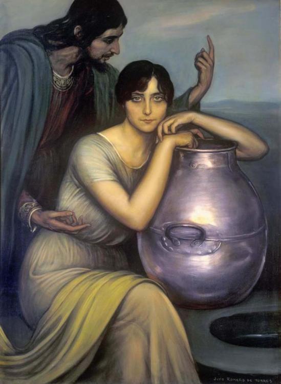Julio Romero de Torres : Samaritana 1920