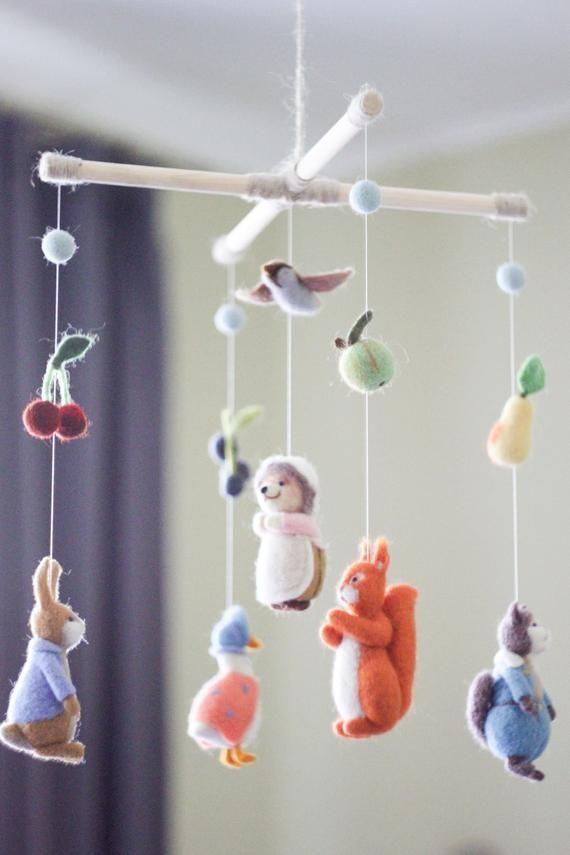 Nursery Decor Baby Crib Mobile