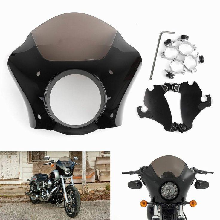 Mad Hornets - Windshield Windscreen Deep Cut Beveled Harley Dyna Sportster, FXDL Dyna Low Rider, 883L Super Low, Street XG 500, Black, $189.99 (http://www.madhornets.com/windshield-windscreen-deep-cut-beveled-harley-dyna-sportster-fxdl-dyna-low-rider-883l-super-low-street-xg-500-black/)