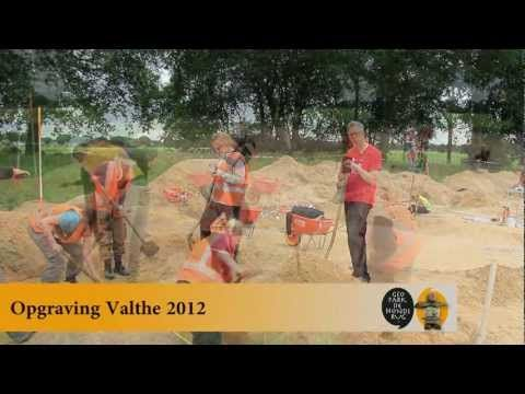 Opgraving Valthe - omgeving hunebedden - YouTube